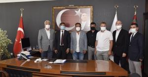 UND ve UKAT, Ege Gümrük Ve Dış Ticaret Bölge Müdürlüğüne Atanan Sayın Mehmet Enver Kök'ü Ziyaret Etti