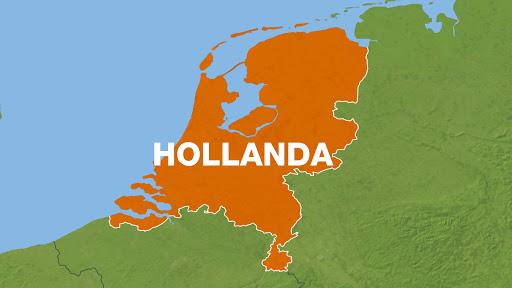 Hollanda A12 Otoyolunda Yol Çalışması