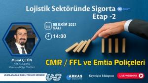 Lojistik Sektörüne Özel Sigorta Webinarı - 5 Ekim 2021