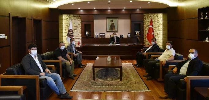 UND Gaziantep Çalışma Grubu Gaziantep Sanayi Odası'nı Ziyaret Etti