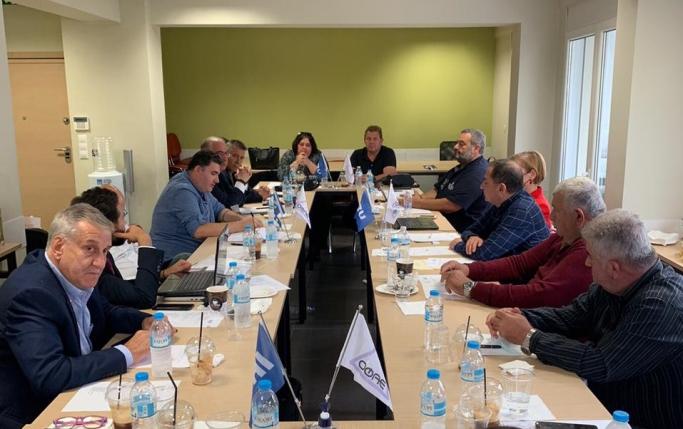 UND & OFAE (Yunanistan Uluslararası Taşımacılar Derneği) Toplantısı Selanik'te Yapıldı