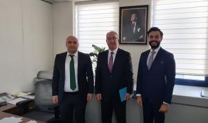 UND, Uluslararası Hizmet Ticareti Genel Müdürlüğü Lojistik Dairesi Başkanı Yusuf Karakaş'a Ziyaret Gerçekleştirdi